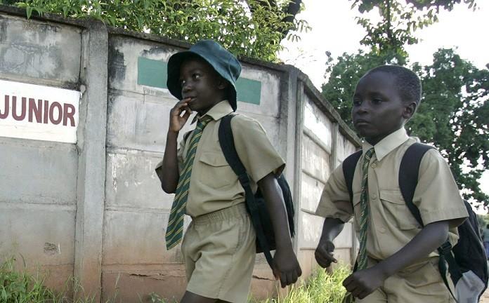 """Outbreak of Goblins"" in Zimbabwe scares pupils off school PIC: Reuters"