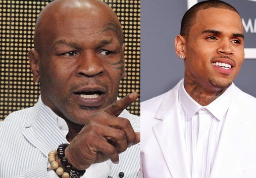 Mike Tyson and Chris Brown