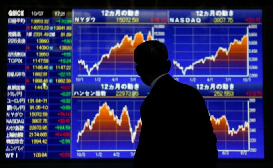 Asian markets trade higher on 30 October