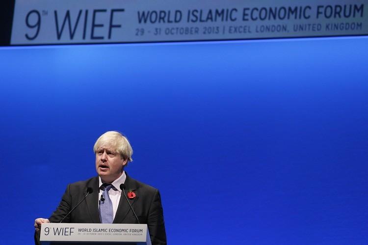 Boris Johnson WIEF London