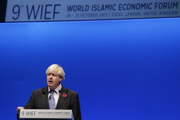 Boris Johnson WIEF London