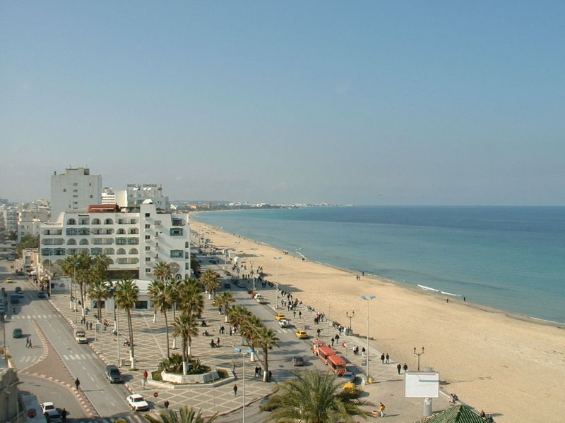A beach in Sousse