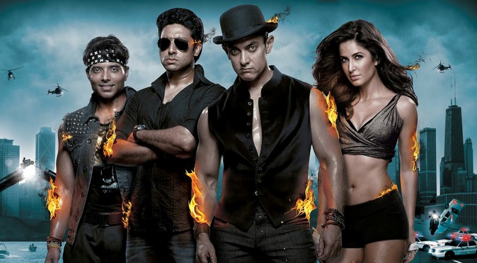 Watch the first theatrical trailer of Dhoom 3
