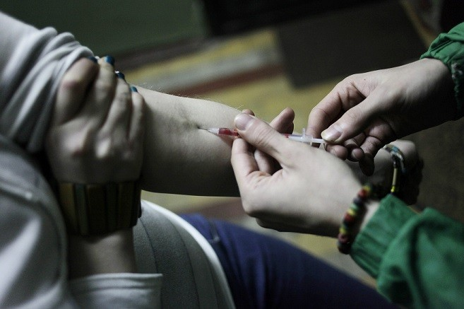 The scheme would allow heroin addicts to take the drug legally in a safe environment (Reuters)