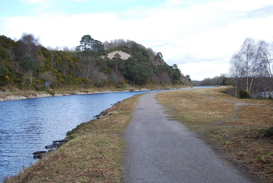The attack occurred along a canal towpath in Caledonia