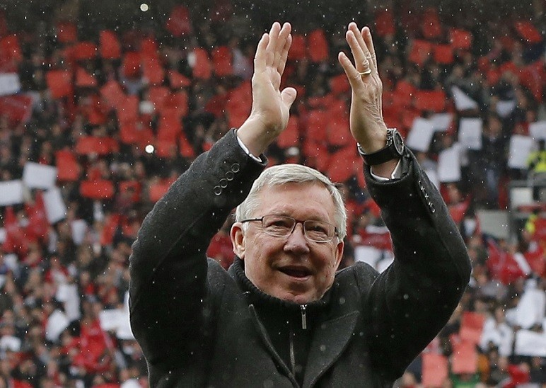 Sir Alex Ferguson's 'My Autobiography' is fastest seller ever PIC: Reuters
