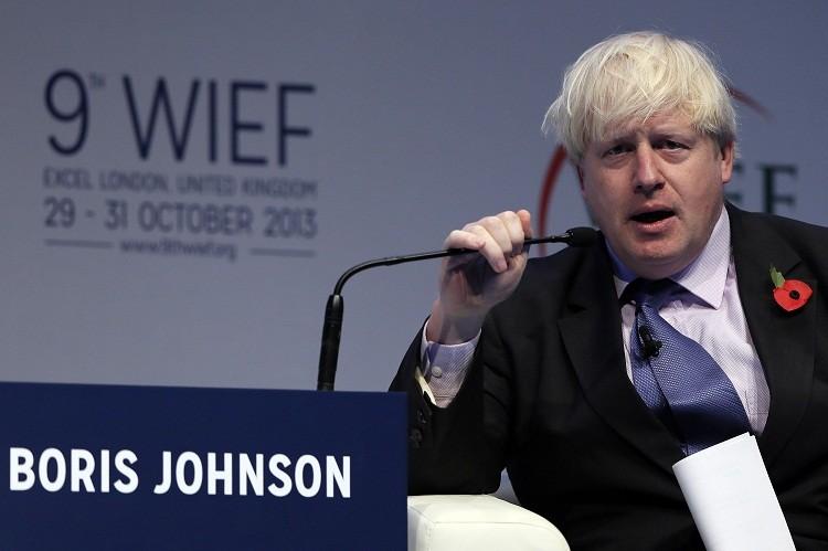 Boris Johnson WIEF