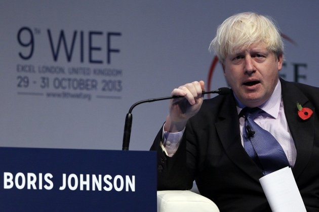 Boris Johnson WIEF