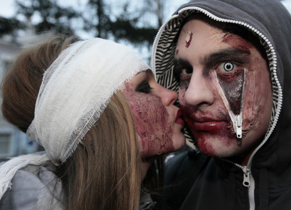 """Youngsters celebrating Halloween in Russia risk unleashing """"dark forces"""" PIC: Reuters"""