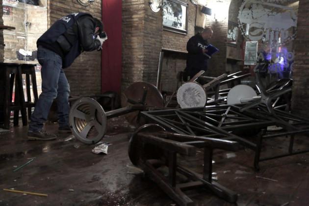 Rome Pub Tottenham attack