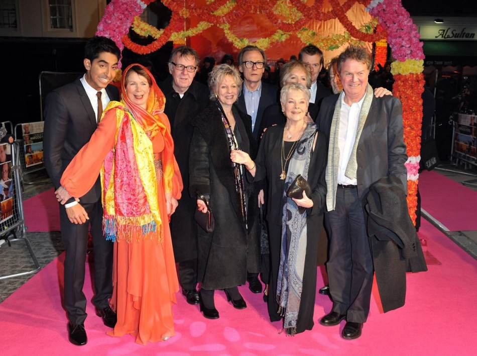 Star-studded cast of The Best Exotic Marigold Hotel