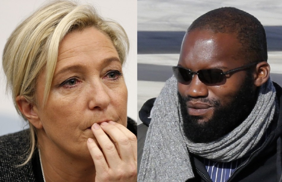 Marine le Pen French Hostages Beard