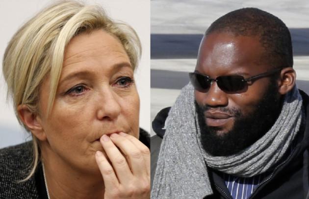 Marine le Pen French Hostages Beard