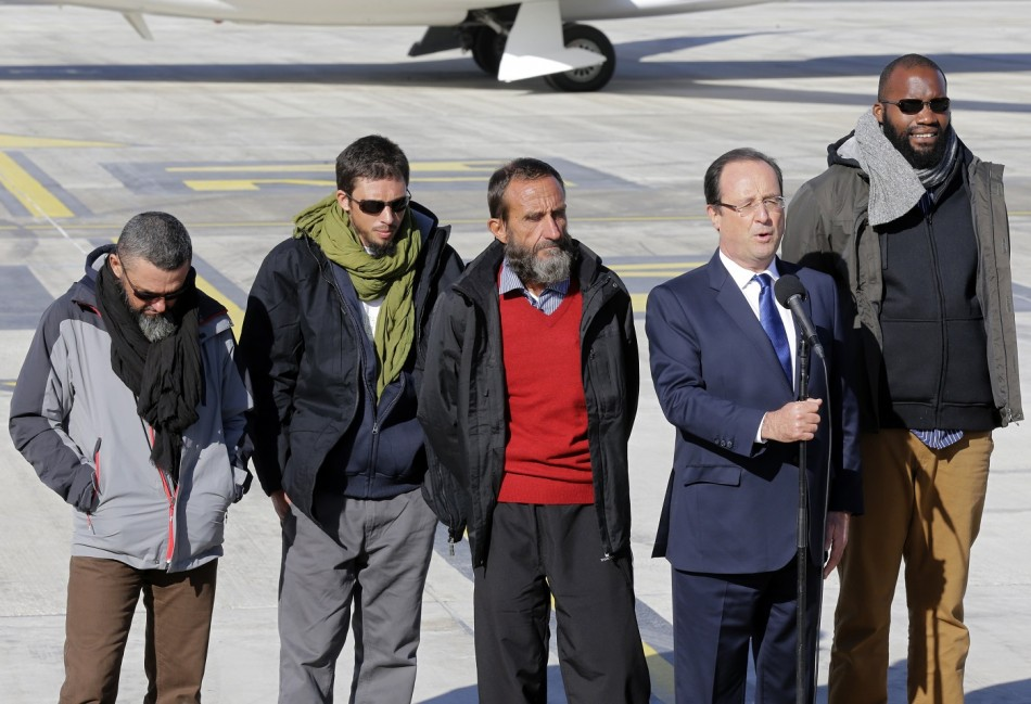 French hostages hollande