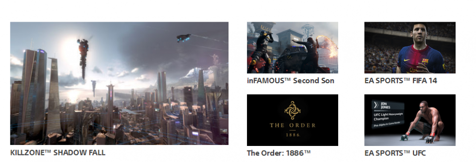 PS4 Launch titles