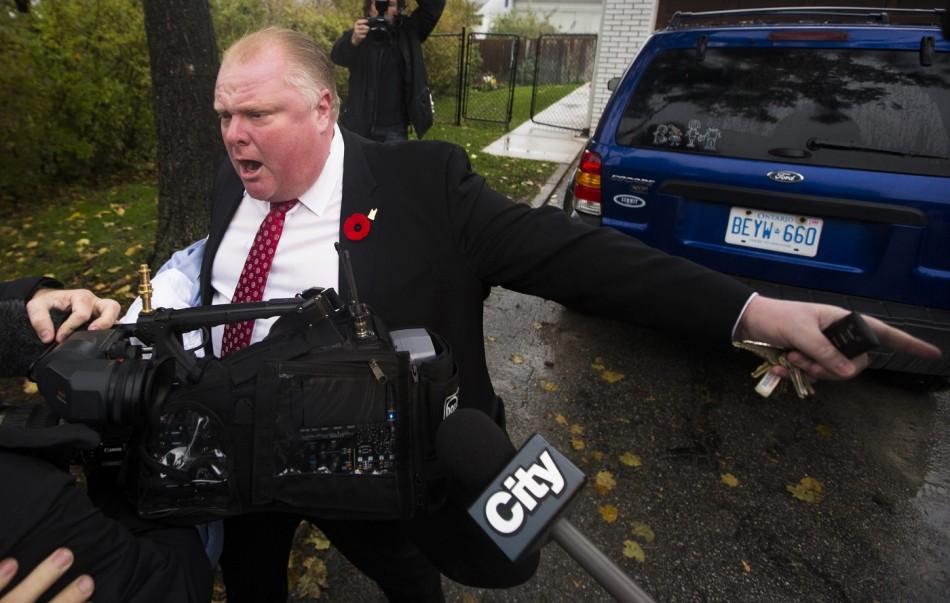 Toronto Mayor Rob Ford Crack
