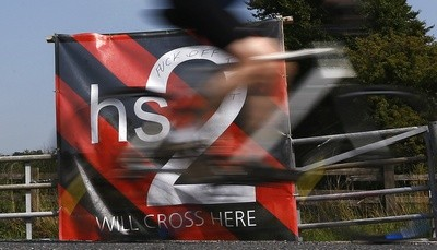 HS2 rail line has sparked controversy