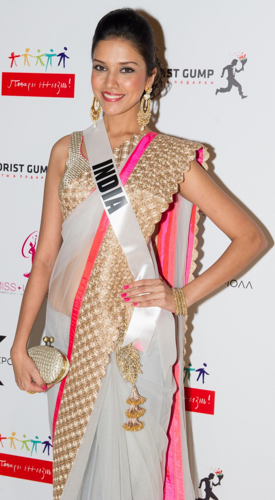 Miss Universe India goes the traditional way. (Photo: MIss Universe Organization L.P., LLLP)