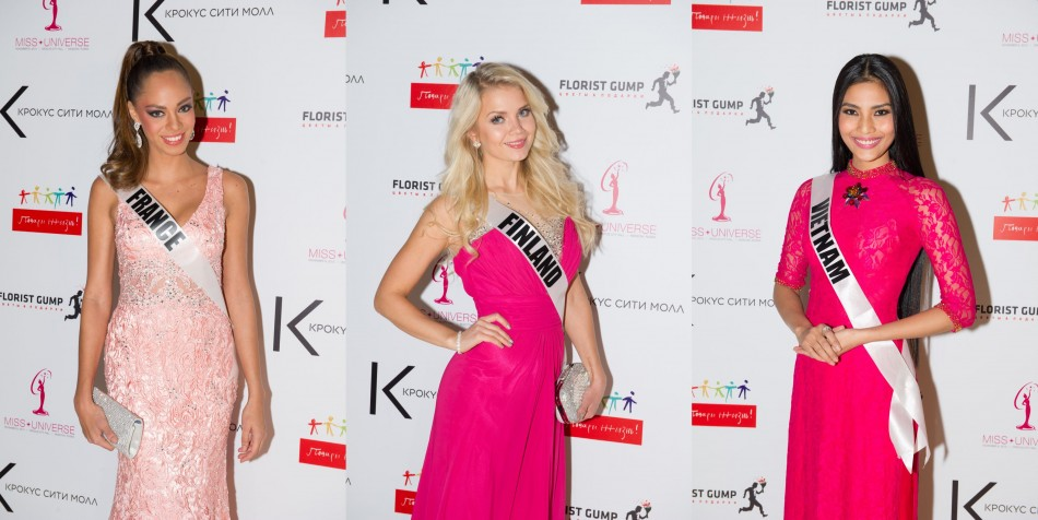 Contestants exhibit girlish trend in pink. (Photo: MIss Universe Organization L.P., LLLP)