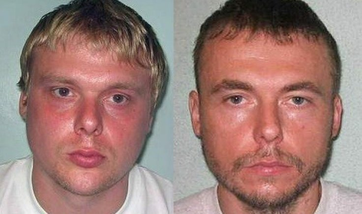 Connelly's boyfriend Steven Barker (L) and his brother Jason Owen
