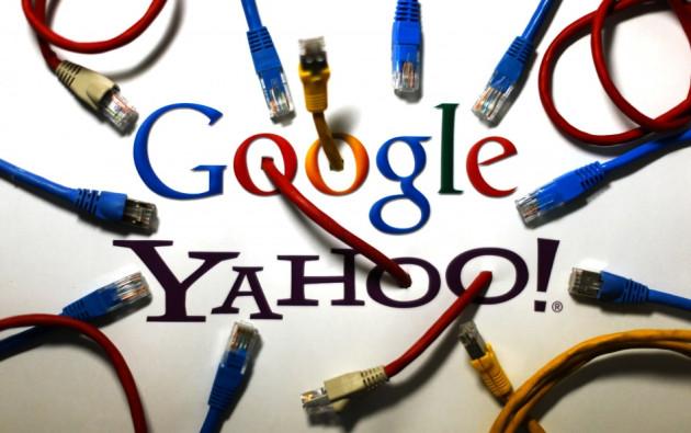 Google and Yahoo