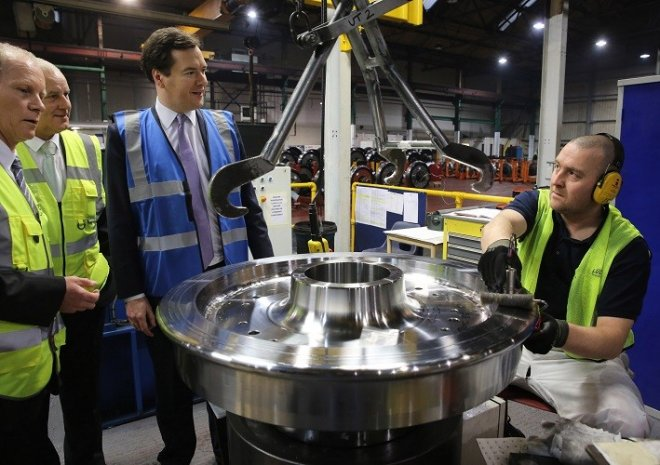 uk manufacturing george osborne