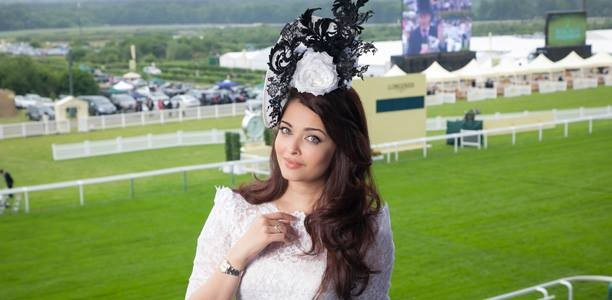 Aishwarya Rai at Royal Ascot 2013 (Photo: AshOfficial/Facebook)