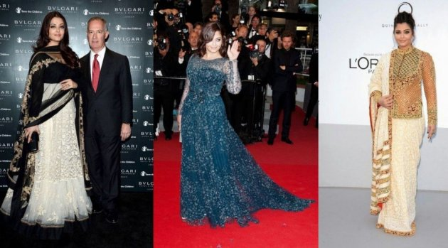 Aishwarya Rai stuns at Cannes film festival 2012. (Photo: AshOfficial/Facebook)