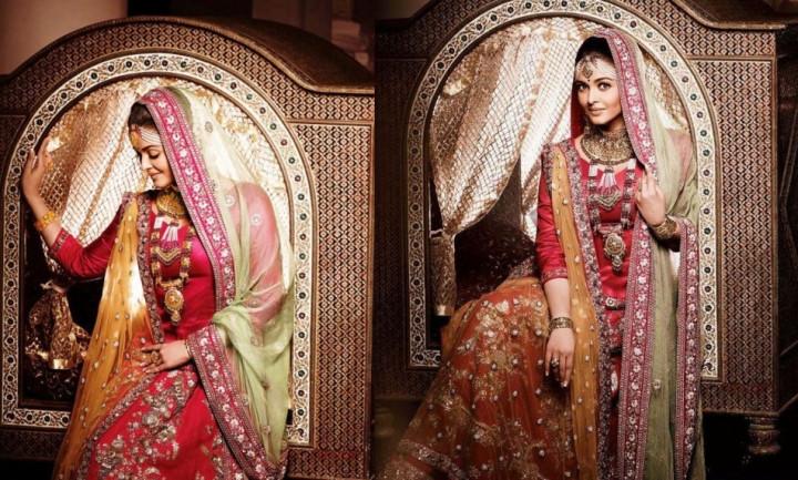 Aishwarya Rai in Kalyan Jewellers photo shoot in August 2012.
