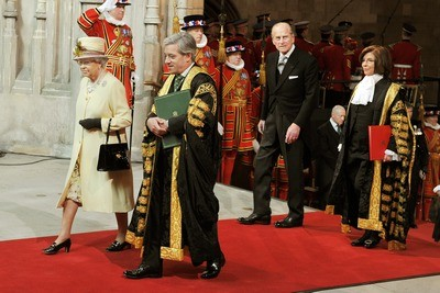 Speaker Bercow most senior figure outside the royals