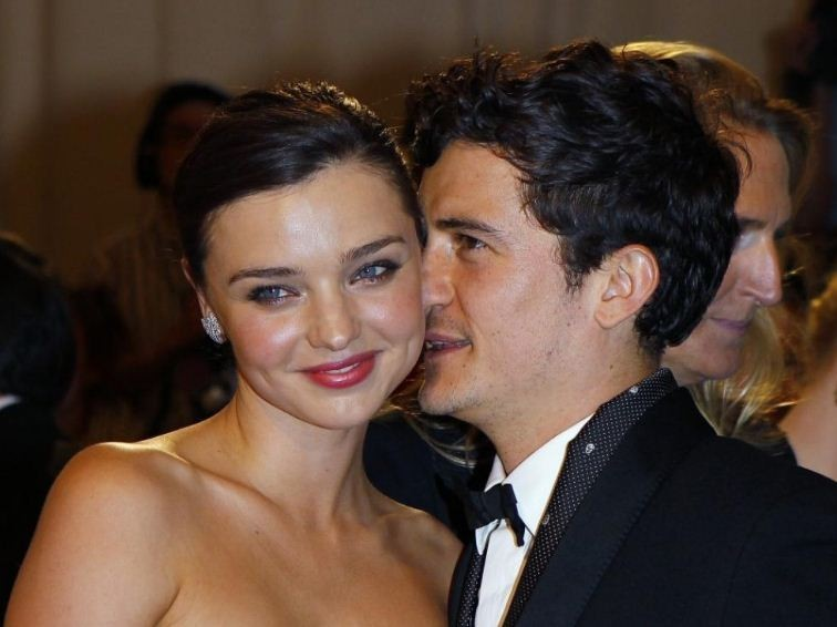 Orlando Bloom opened up about his split with Australian supermodel Miranda Kerr, during a appearance on Katie.(Reuters)
