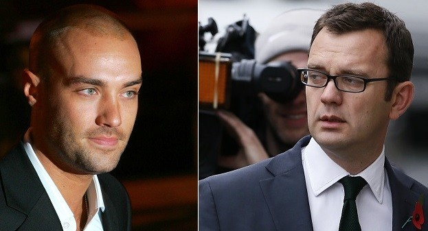 Calum Best, (l) Andy Coulson News of the World