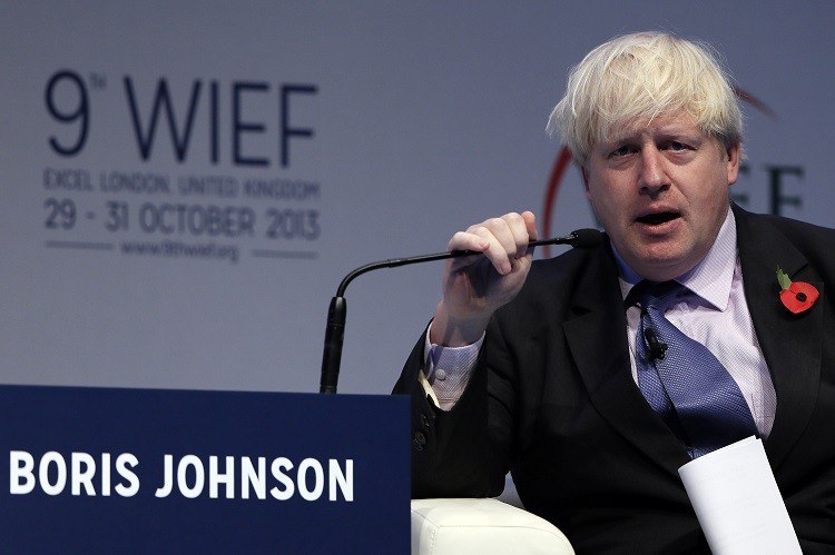 Boris Johnson Islamic finance WIEF