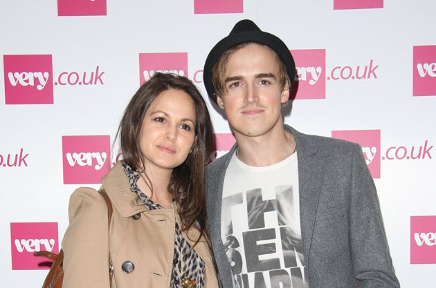 Mcfly S Tom Fletcher And Wife Giovanna Welcome Baby Son