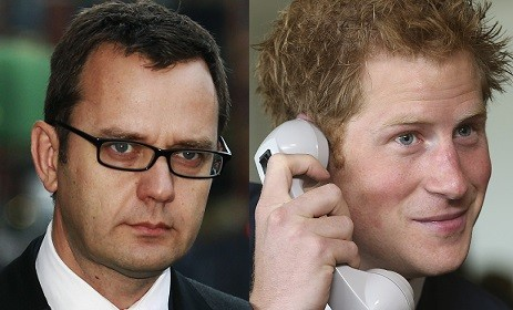 Andy Coulson is accused of knowing Prince harry's phone was hacked while editor of the News of the World (Reuters)