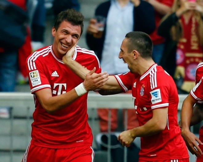 Mario Mandzukic-Franck Ribery