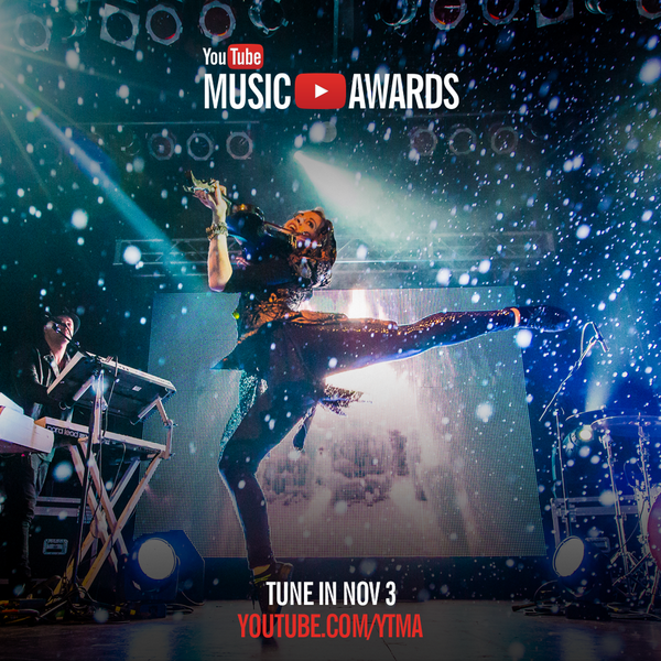 Inaugural YouTube Music Awards will feature live performances of artists