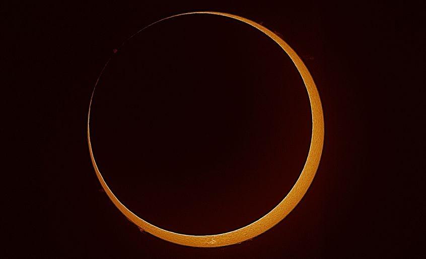 The annular eclipse
