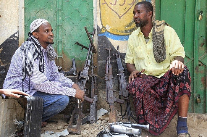 At least 30 al-Shabaab militants are believed to have died in the African Union-backed military attack.