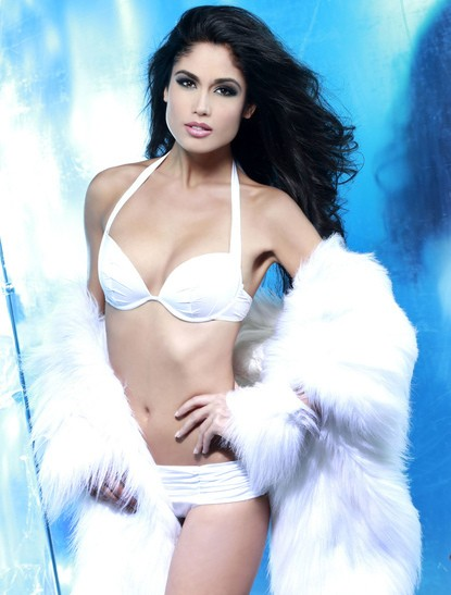 In the second place is Miss Spain [MissUniverse.com]