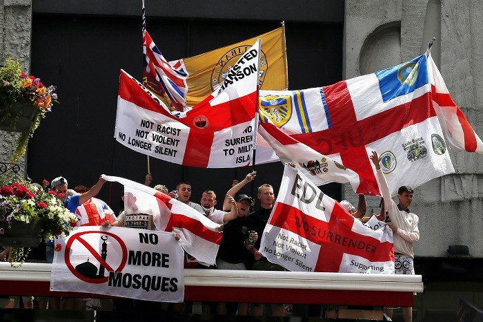 July 7 hero Martin Sculpher joined the English Defence League, which stages anti-Islam demonstrations.