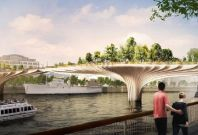 The Garden Bridge could be open by 2018