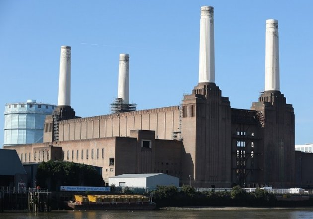 Battersea power station is gearing up for a £750m renovation.