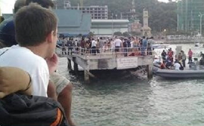 Six passengers died off the Thai resort of Pattaya. Picture: Richard Barrow
