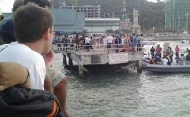 Six passengers died off the Thai resort of Pattaya. Picture: Richard Barrow