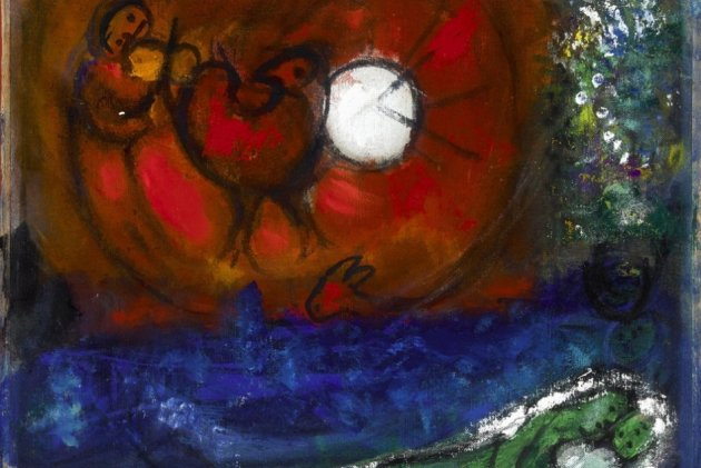 Artworks worth nearly £1bn, including works by Marc Chagall, have been found in a Munich flat.