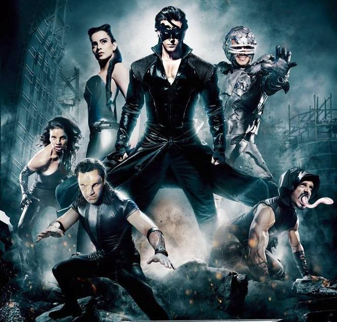 Krrish is up against a team of mutant villains in Krrish 3