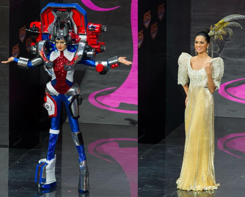 Miss USA (L) and Miss Philippines (Photo: MIss Universe Organization L.P., LLLP)