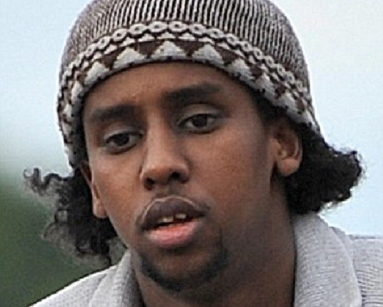Mohammed Ahmed Mohamed vanished beneath a burka PIC: PA