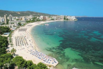 Magaluf is a popular destination for British holiday makers